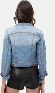 Kora denim jacket in light wash