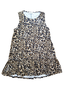 Cool cat leopard tunic tank