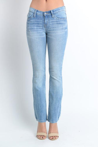 Judy Blue Mid Rise Boot Cut Denim - Plus