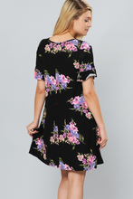 Load image into Gallery viewer, Spring Blooms Swing Dress