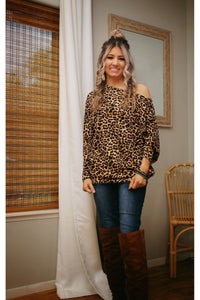 On the prowl dolman top
