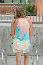 Load image into Gallery viewer, Rocker Tank | Seaside Tie Dye 🇺🇸