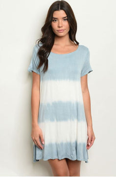 Dip Dyed Beachy Dreams Dress
