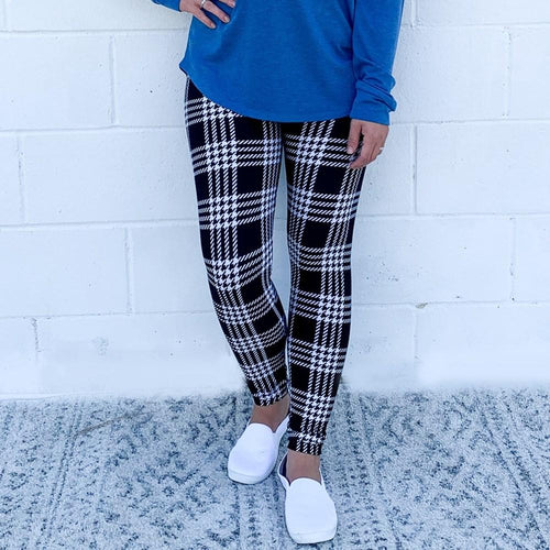 Tattersall Plaid Career Leggings