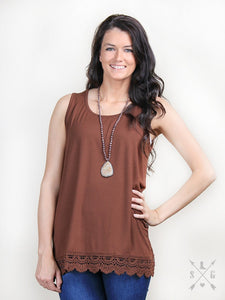Lace Hem Tanks for Layering