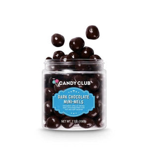 Candy Club Mini Mels Dark Chocolate Caramel Bites