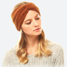 Load image into Gallery viewer, Caramel Sherpa Headband