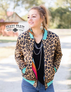 Chimmi Change Up Leopard Serape Jacket