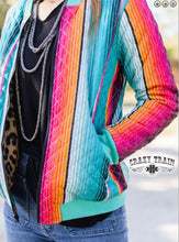 Load image into Gallery viewer, Chimmi Change Up Leopard Serape Jacket