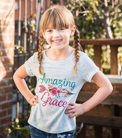 Girls Amazing Grace Top