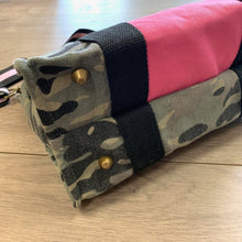 Load image into Gallery viewer, The Supreme Camo and Pink Tote