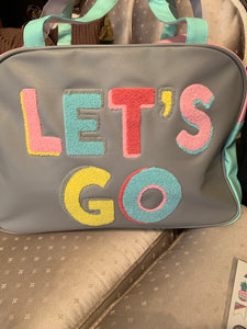 Let's Go Varsity Carry on Tote