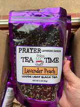 Load image into Gallery viewer, Lavender Peach Gourmet Loose Tea