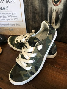 Softie Camo Sneakers
