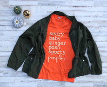 Load image into Gallery viewer, Pumpkin Spice Girls Fall Graphic Tee 🎃
