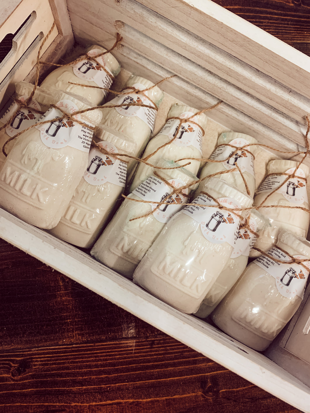 WS Oatmeal, Milk & Honey Milk Jug Bath Bombs