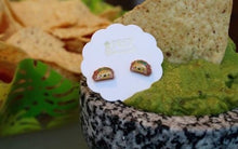 Load image into Gallery viewer, Prep Obsessed Taco, Margarita Summer Drink Earrings