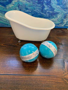 WS Med Round Bath Bombs Five Pack