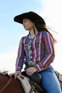 Serape Rodeo Shirt