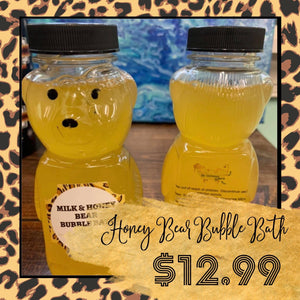 Milk & Honey Bear Bubble Bath
