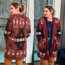 Load image into Gallery viewer, jodifl aztec sweater