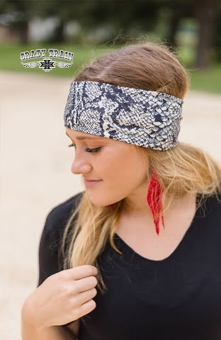 Hissy Fit Snakeprint Headband