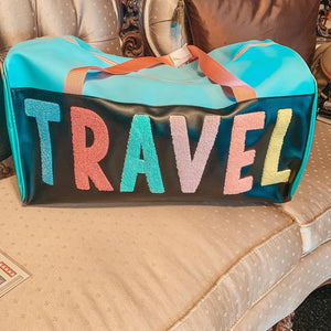 Travel Varsity Duffle Bag