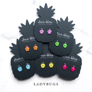Dixie Bliss Luxuries Ladybug Earrings