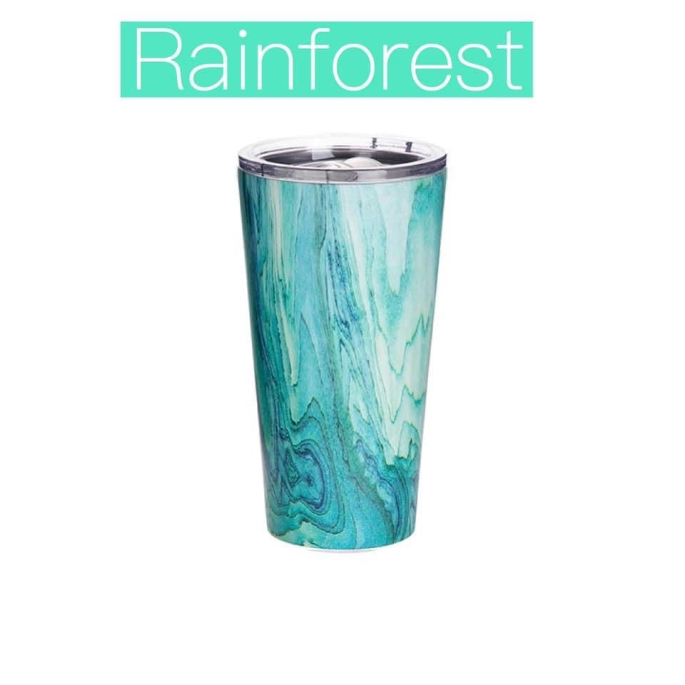 Rainforest Green Insulated Tumbler Cup