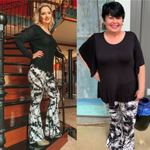 Load image into Gallery viewer, plus size flare pants