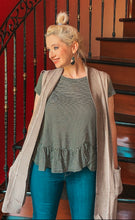 Load image into Gallery viewer, Out on the town cardi vest in mocha