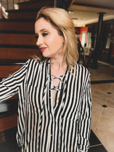 Load image into Gallery viewer, The Striped Standard Blouse