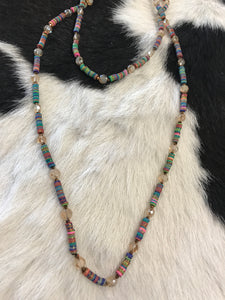 Shimmering Serape Necklace
