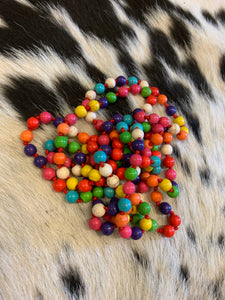 "Candy Colored 60"" Beads"