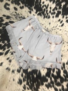 Sheer Bull Lounge Shorts