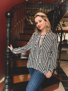 The Striped Standard Blouse
