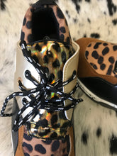 Load image into Gallery viewer, Holo Leopard Sneakers