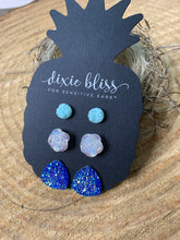 Load image into Gallery viewer, Dixie Bliss Seraphina Druzy Rose Trio