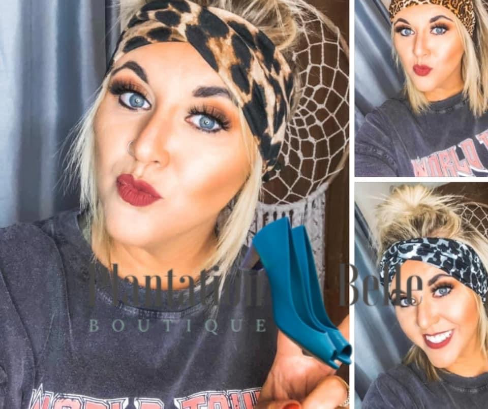 Softie Twist Headbands in Tie Dye & Animal Print