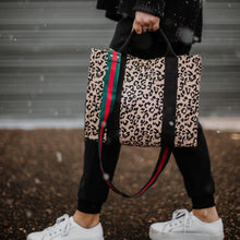 Load image into Gallery viewer, leopard gucci stripe