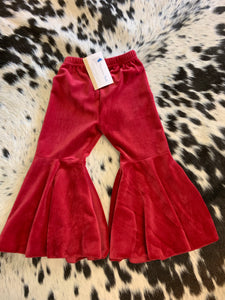 Red Velour Baby Bells