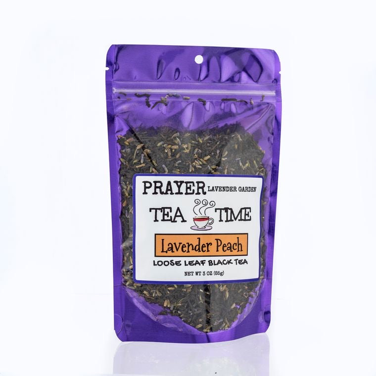 Lavender Peach Gourmet Loose Tea