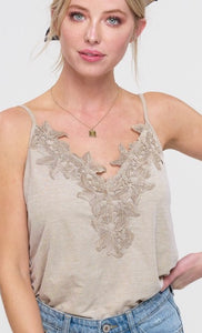 Lace Cami Adjustable Straps