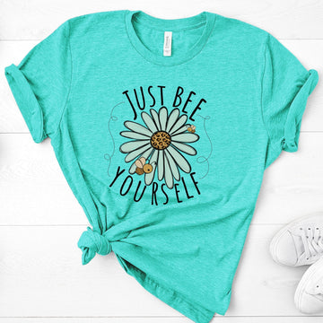Just Bee Yourself - Heather Sea Green