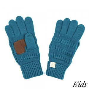 CC Beanie Kids Smart Touch Gloves Mult Colors