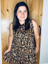Load image into Gallery viewer, Cool cat leopard tunic tank