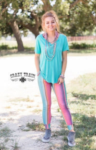 Crazy Train Top Dog Serape Joggers