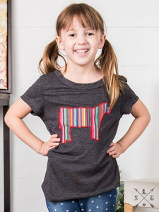 Kids Serape Steer Tee