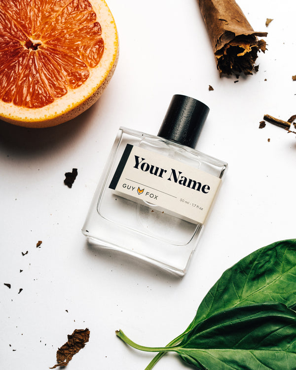 Custom Cologne Label