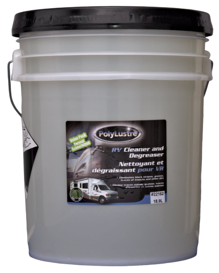 RV cleaner and degreaser - biodegradable - insects - tar